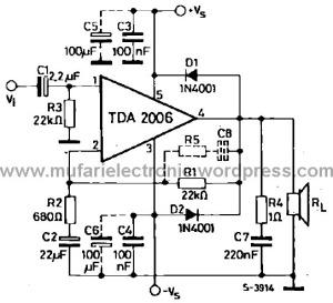 Tda Amplifier on Kenwood Speaker Mic Schematic