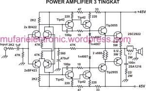 Power Amplifier 3 Tingkat mufari