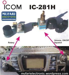 ICOM IC-281H Potensio Fix
