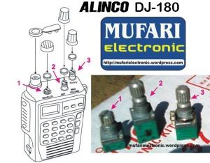 Potensio Alinco DJ-180 FIX