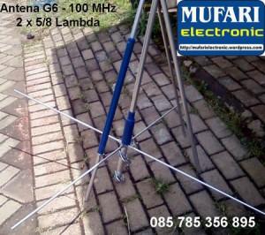 Antena G6-100 FM Bp-Saipullah Medan